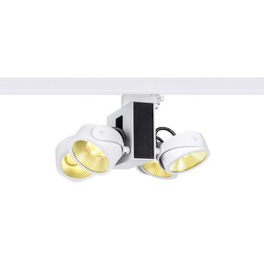 LED 3-Phasenschienen Spot Tec Kalu Quad 60° in Weiss und Schwarz 4x15W 3800lm