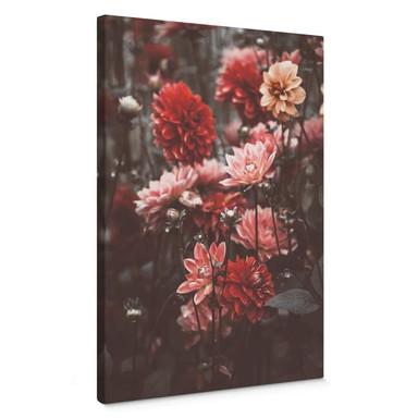 Leinwandbild Annie - Sommerblüten