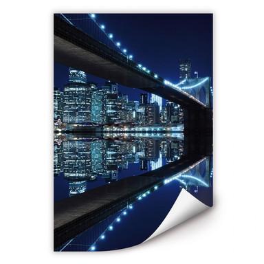 Wallprint Brooklyn Bridge