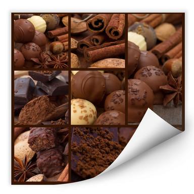 Wallprint Schokoladentraum