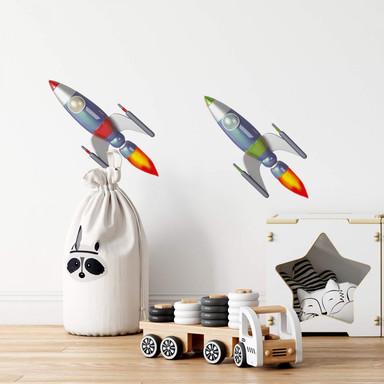 Wandtattoo Michel Agullo - Raketen Duo