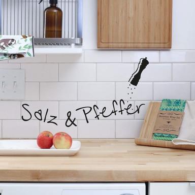 Wandtattoo Salz & Pfeffer