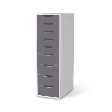 Folie IKEA Alex 9 Schubladen - Grau Light- Bild 1