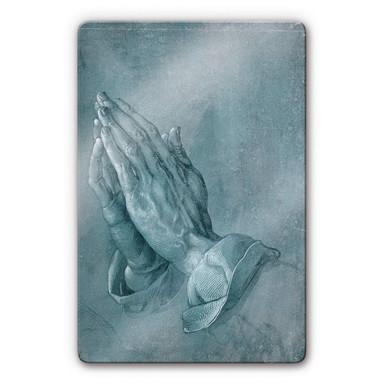Glasbild Dürer - Studie zu Betende Hände