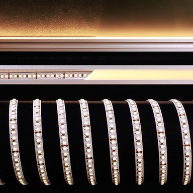 LED Flexibler LED Stripe 3528-180-24V-2700K-5M in Weiss W 4600lm