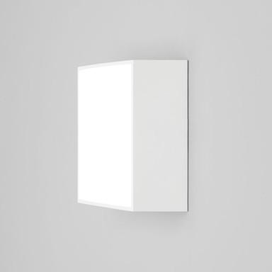 LED Wand- und Deckenleuchte Kea in Weiss 5.3W 348lm IP65 140x140mm