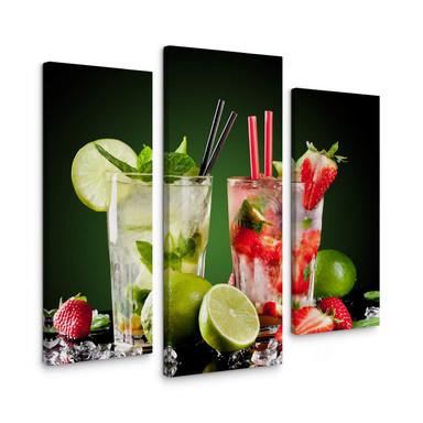 Leinwandbild Cocktail Hour (3-teilig)