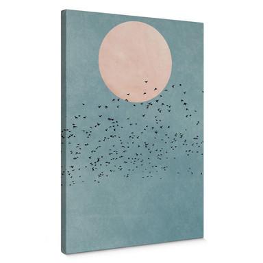 Leinwandbild Kubistika - Mondschein