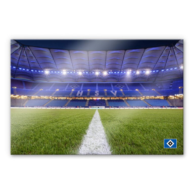 Acrylglasbild HSV Arena 03