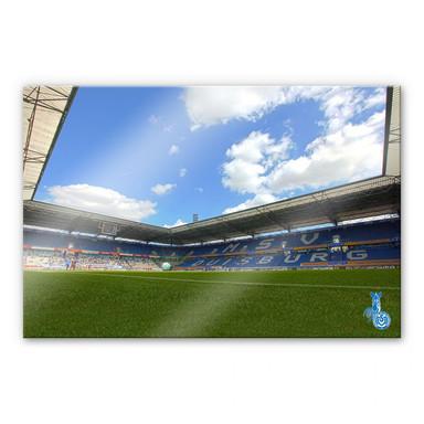 Acrylglasbild MSV Duisburg Stadion