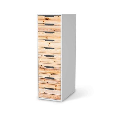 Folie IKEA Alex 9 Schubladen - Bright Planks