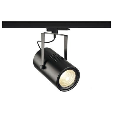 LED 3-Phasenschienen Spot 47W 4800lm 4000K 40° in Schwarz