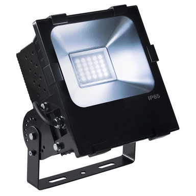 LED Outdoor Strahler Disos, 4000 K, schwarz, 100 W