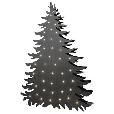 LED Stehleuchte Blacky in Schwarz 2.4W 80lm