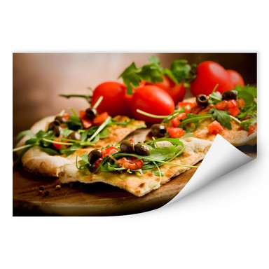 Wallprint Pizza all'Italiana