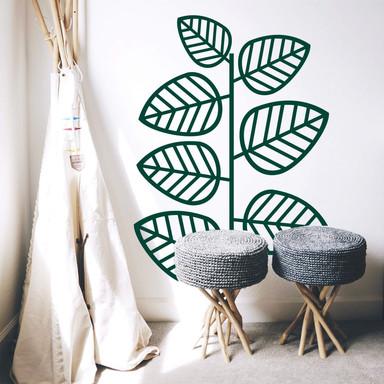 Wandtattoo Dschungelpflanze