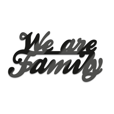 Acryl-Anhänger We are Family