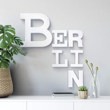 Dekobuchstaben 3D Berlin mixed