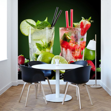 Fototapete Cocktail Hour - 288x260cm - Bild 1