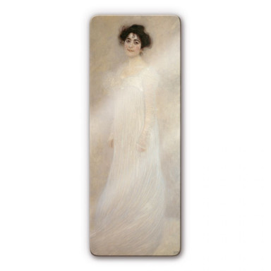 Glasbild Klimt - Bildnis Serena Lederer