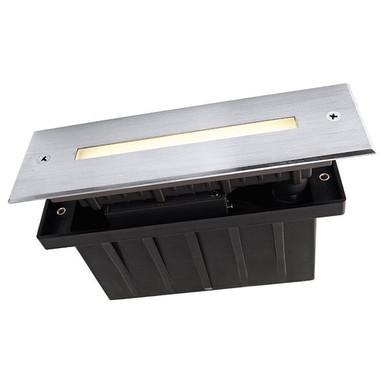 LED Bodeneinbauleuchte Slim Line in Silber 1.9W 195mm IP67