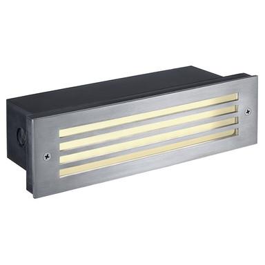 LED Einbauleuchte Brick Mesh, Edelstahl, IP54