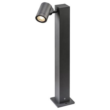 LED Wegeleuchte Helia Single Pole in Anthrazit 8W 450lm IP55