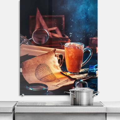 Spritzschutz Belenko - Steampunk Tea 02