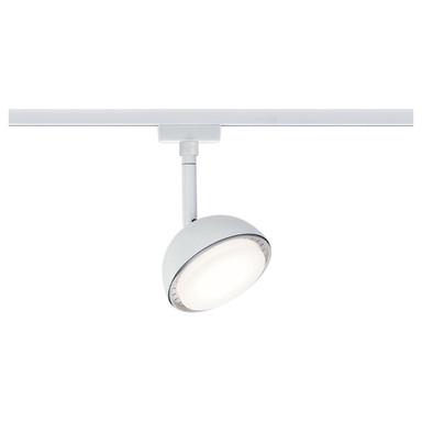 URail LED-Spot Hemi Weiss 230V Metall und Kunststoff