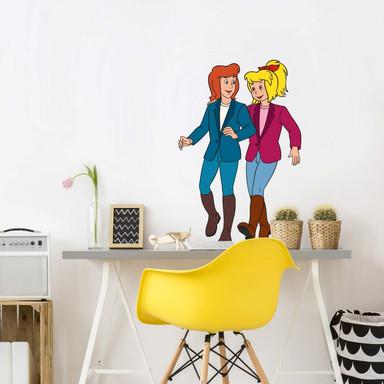 Wandsticker Bibi&Tina - Freundinnen
