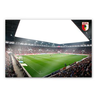 Acrylglasbild FC Augsburg Stadion Innenansicht