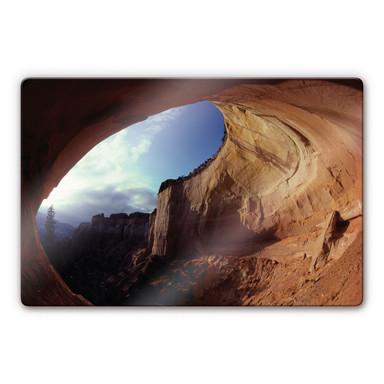 Glasbild NG Höhle