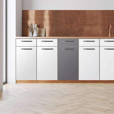 Küchenfolie - Unterschrank 40cm Breite - Grau Light