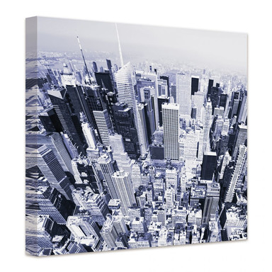 Leinwandbild Manhattan Luftbild
