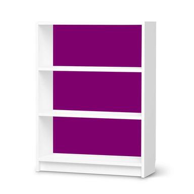 Möbelfolie IKEA Billy Regal 3 Fächer - Flieder Dark