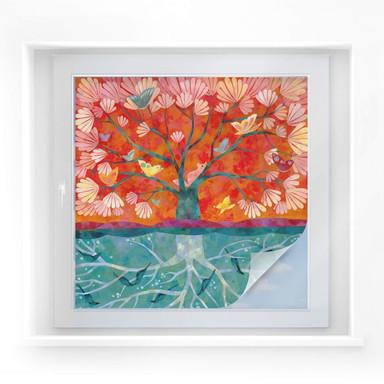 Sichtschutzfolie Blanz - Baum des Lebens