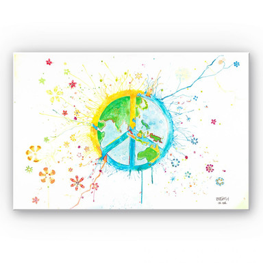 Wandbild Buttafly - Peace