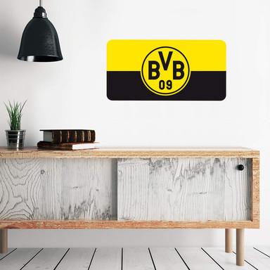 Wandsticker Borussia Dortmund Banner gelb/schwarz