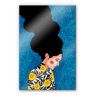 Acrylglasbild Hülya - Die Sonne im Herzen