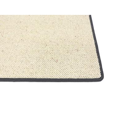 Corfu Berber Kettelteppich | Rechteckig | 65x130cm | Dark Gray - Bild 1