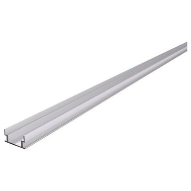 IP-Profile, U-flach AU-04-12 für 12 - 13.3 mm LED Stripes, Silber-matt, 1250 mm
