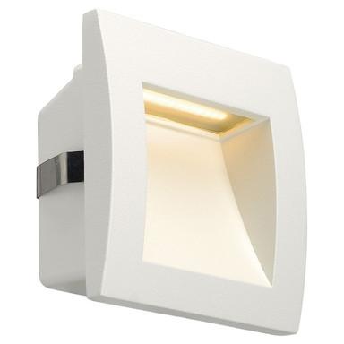 LED Wandeinbauleuchte Downunder Out S, IP55. 3000K, weiss