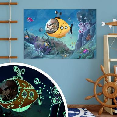 Leuchtposter Unterwasserwelt - Bild 1