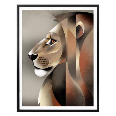 Poster Braun - Lion