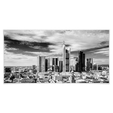 Poster Frankfurter Skyline - Panorama