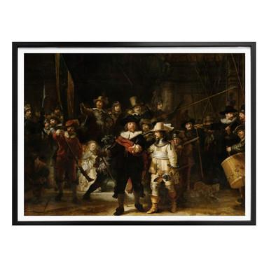 Poster Rembrandt - Die Nachtwache