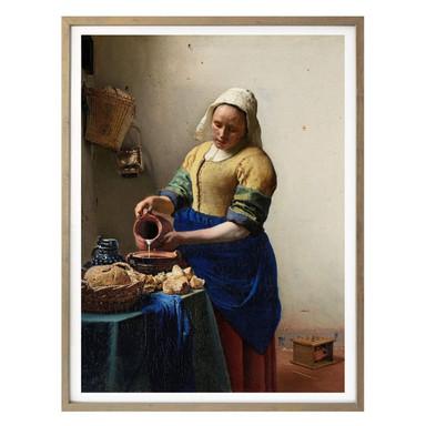 Poster Vermeer - Das Mädchen mit dem Milchkrug