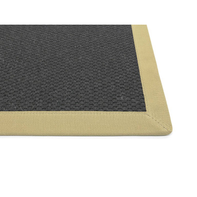 Saba Wollweb 5cm Bordürenteppich