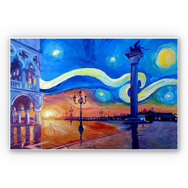 Wandbild Bleichner - Venedig bei Nacht