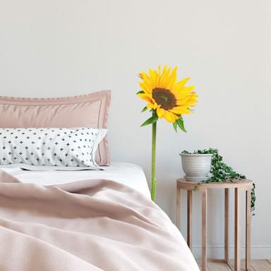 Wandsticker Sonnenblume einzeln
